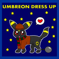 Umbreon Dress Up by pichu90