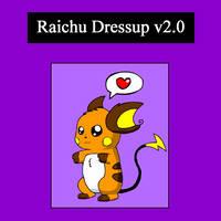 Raichu Dressup v2.0 by pichu90