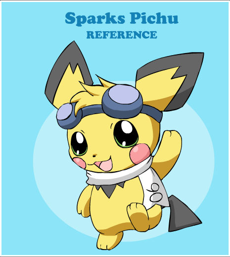 Sparks Pichu Reference 2012