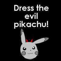 Evil Pikachu Dress Up by pichu90