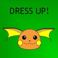 Raichu Dress Up by pichu90