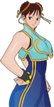 ChunLi Vector by neko-melody