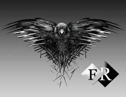 Raven Game of Thrones Render by Ferdiferrah