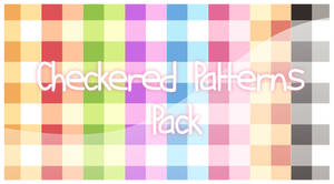 PS : Checkered-Patterns Pack
