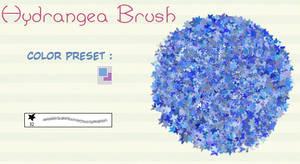 PS : Hydrangea brush