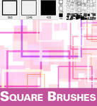 Square Brush Set