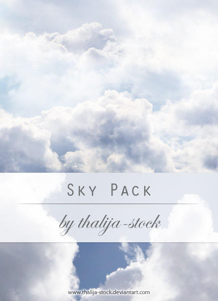 pack - 001 Sky by thalija-STOCK