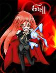 Grell Sutcliff Chibi color
