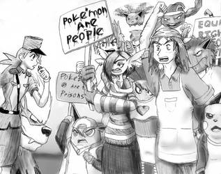 Power to the Poke'people