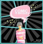 [PACK WATCHERS] 10 Brushes Comic