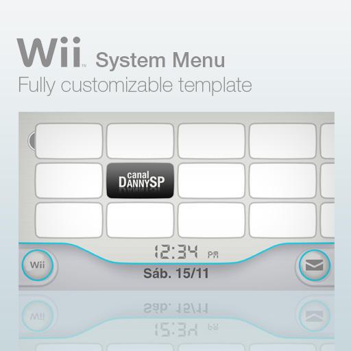 Wii System Menu Template By Dannysp On Deviantart