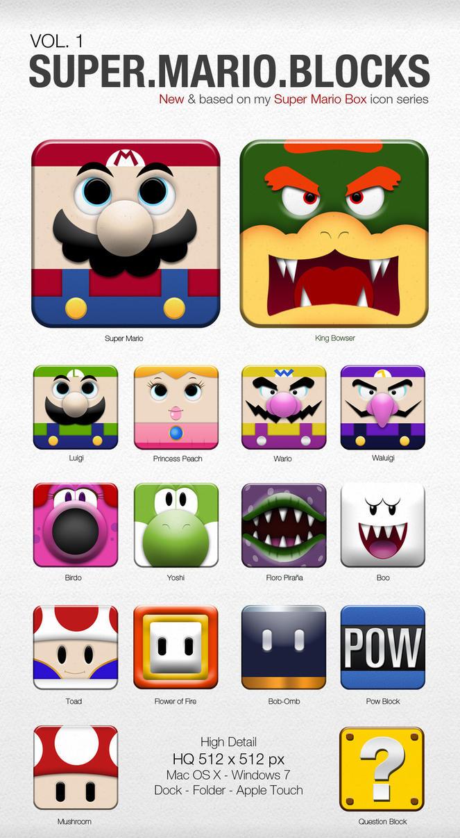 Super Mario Blocks VOL. 1 by DannySP