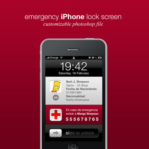 emergency contact iphone emergency iphone wallpaper by dannysp on deviantart 9006