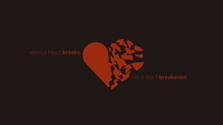 Breakeven (Minimal Wallpaper)