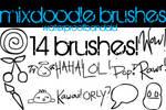 mixdoodle brushes.