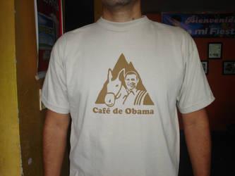 obama t shirt by panguanochito