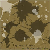 splatter brushes by Hest1a