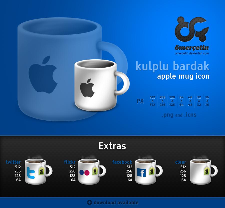 Apple Mug Icons and Extras
