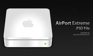 AirPort Extreme PSD File