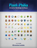 PixeloPhilia 32PX Icon Set