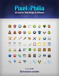 PixeloPhilia 32PX Icon Set by omercetin