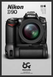 Nikon D90 Icon by omercetin