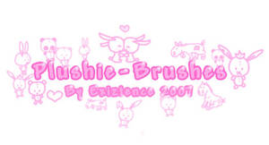 Plushie brush-set