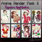 Anime Render Pack 11 Navidad
