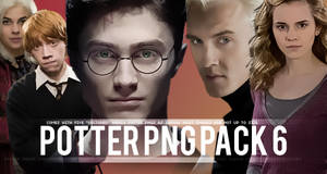 (Special Edition) Potter PNG Pack6 by smashingdaisies