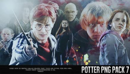 Potter PNG Pack 7