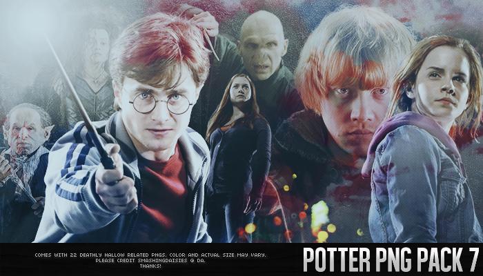 Potter PNG Pack 7 by smashingdaisies