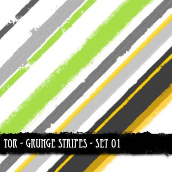 Grunge Stripes Set 01 by theonlyremedy
