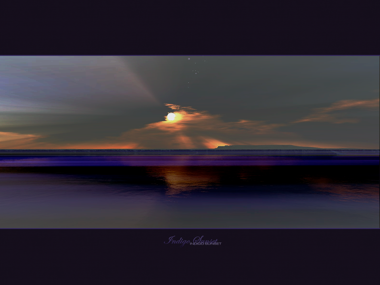 Indigo Sunset by etype2