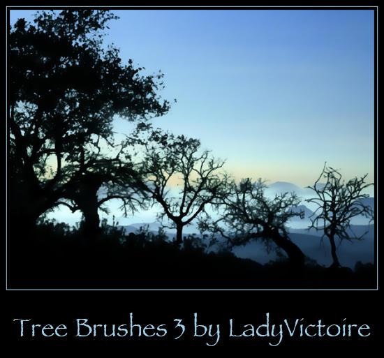 Tree Brushes 3 by LadyVictoire-Brushes