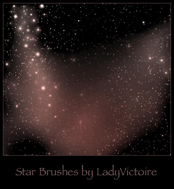 Stars Brushes 2 by LadyVictoire-Brushes