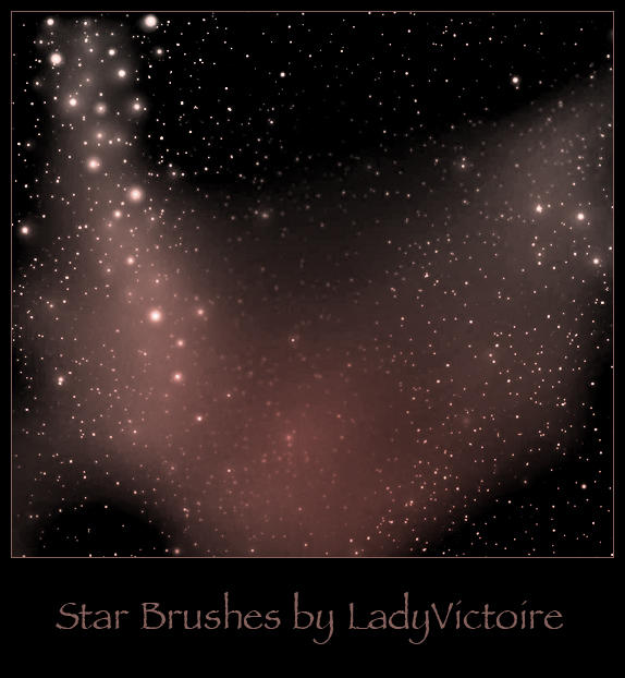 Stars Brushes 2 by LadyVictoire-Brushes