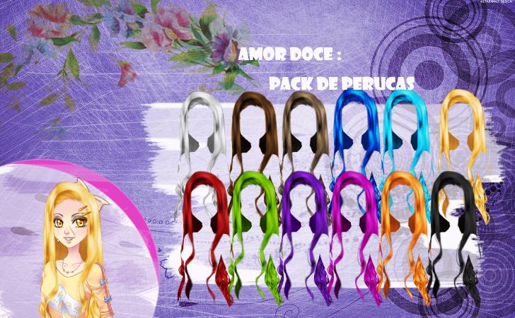 Top Amor Doce--Pack de perucas 4 by Helyra on DeviantArt FK47