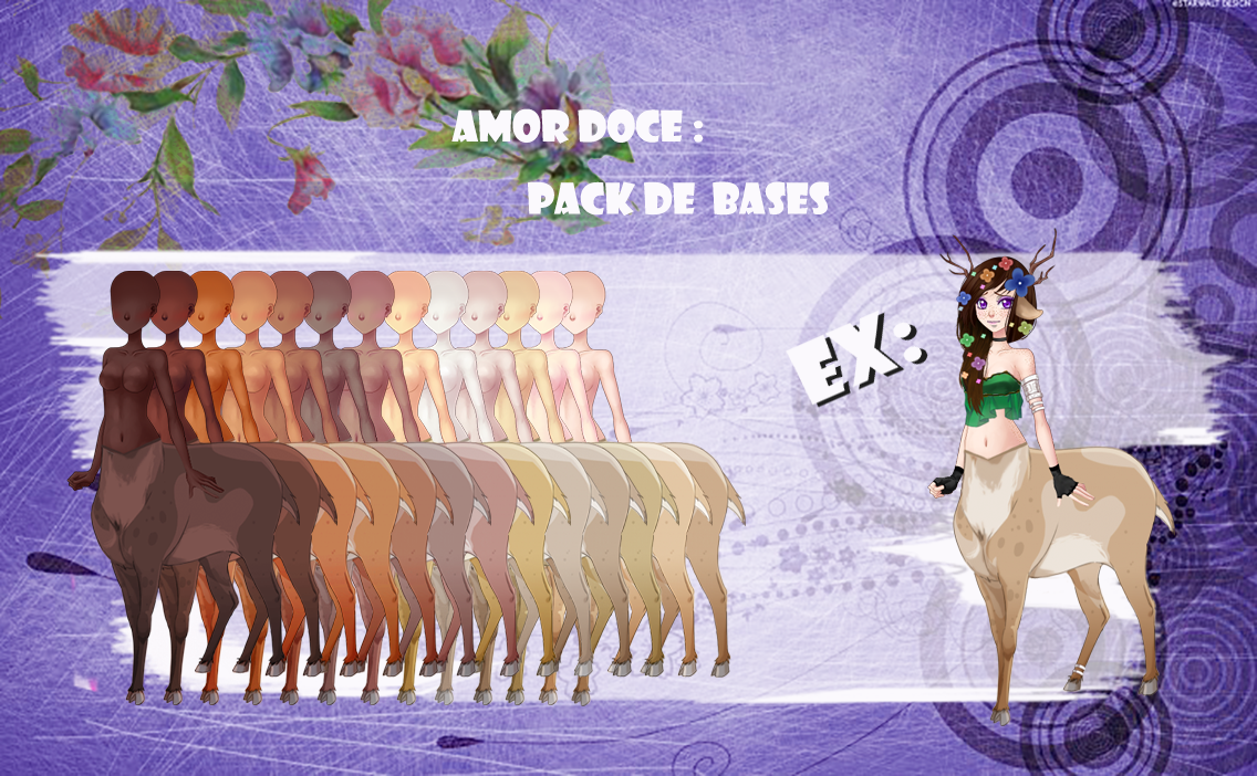 Amor Doce--Pack de Bases 1 by Helyra
