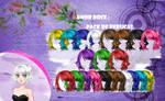 Amor Doce--Pack de perucas 31