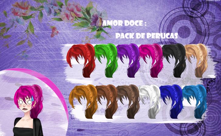 Amor Doce--Pack de perucas 49