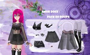 Amor Doce--Pack de roupas 67 by Helyra