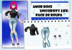 Amor Doce UL--Pack de roupas 1 by Helyra