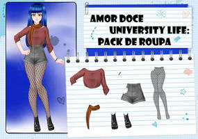 Amor Doce UL--Pack de roupas 2 by Helyra