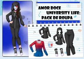 Amor Doce UL--Pack de roupas 5 by Helyra
