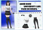 Amor Doce UL--Pack de roupas 6