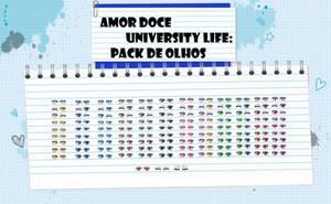 Amor Doce UL--Pack de Olhos by Helyra