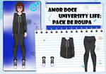 Amor Doce UL-Pack de roupas masculinas