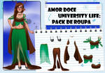 Amor Doce UL--Pack de roupas 10
