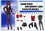 Amor Doce UL--Pack de roupas 12