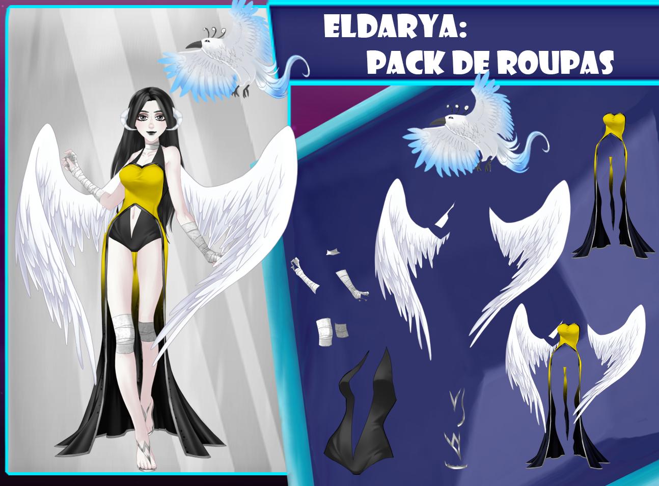 Eldarya----Pack de roupa 22 by Helyra